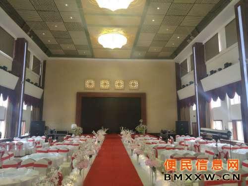 三楼江山厅(婚宴大厅,660平)